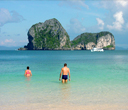 Take a dip at the crystal clear water of the Andaman by Lantaresort.com