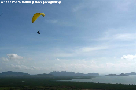 What's more thrilling than paragliding by Lantaresort.com